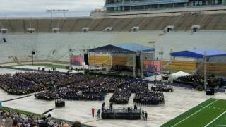 Notre Dame Students Walk Out of Vice President Mike Pence's Commencement Speech