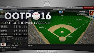 Out of the Park Baseball 16 Gameplay (OOTP Baseball 16)