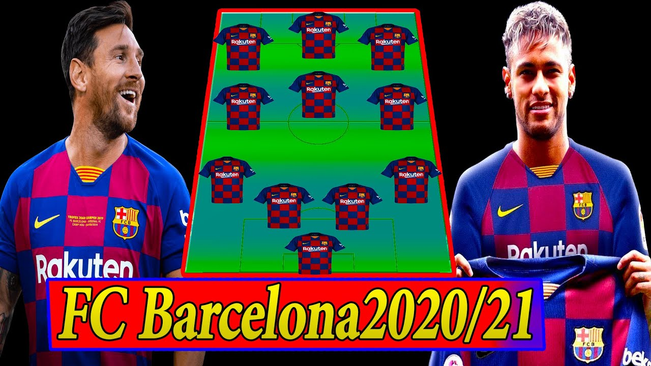 The Best Fc Barcelona Team 2020