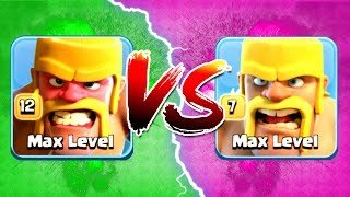 ALL BARBARIANS vs RAGED BARBARIANS!! - THE TRUTH! WHO'S THE STRONGEST! - Clash Of Clans