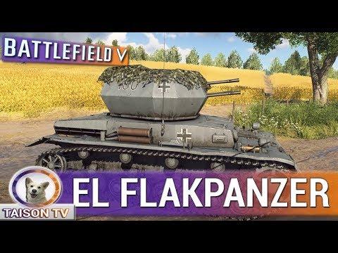BATTLEFIELD V EL FLAKPANZER WIRBELWIND DE 4 CAÑONES