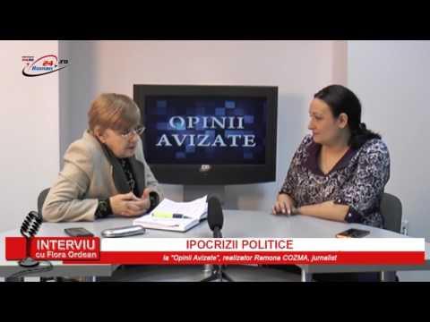 INTERVIU CU FLORA ORDEAN - IPOCRIZII POLITICE