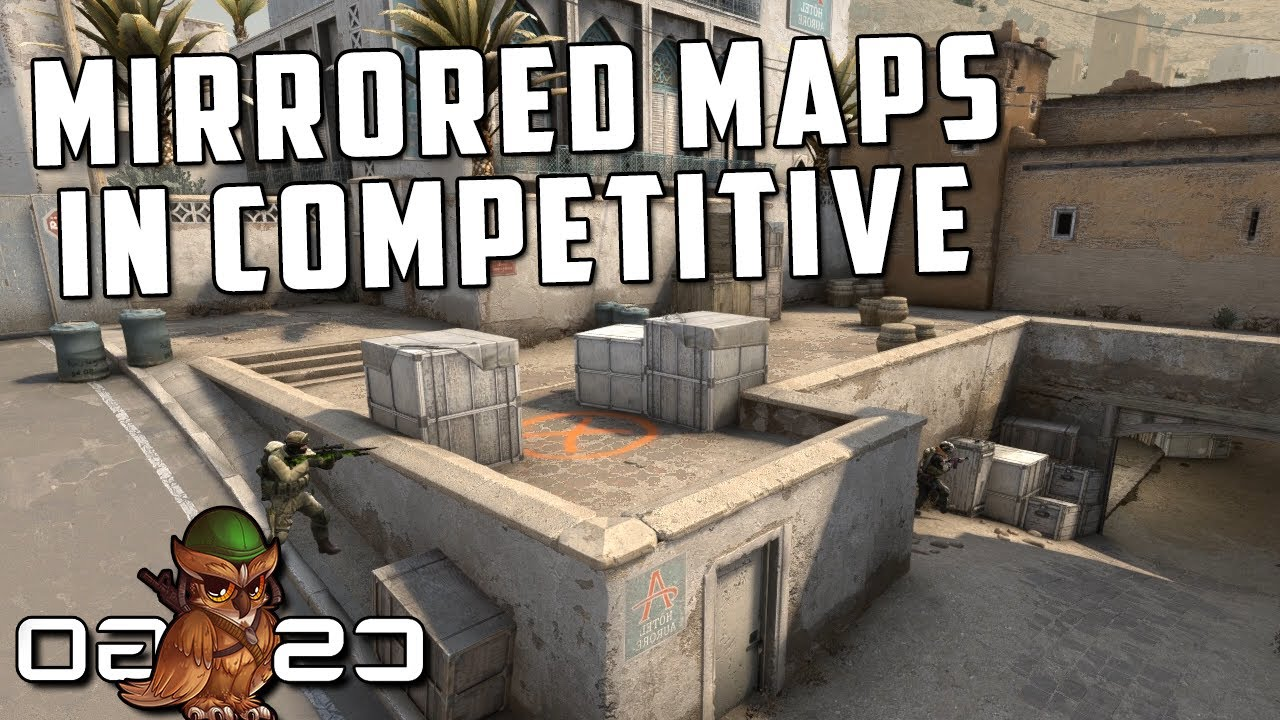 Competitive CS:GO but Mirrored Maps thumbnail