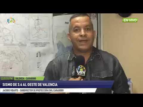 Venezuela - Balance de sismo 3.4 en Valencia, estado Carabobo - VPItv