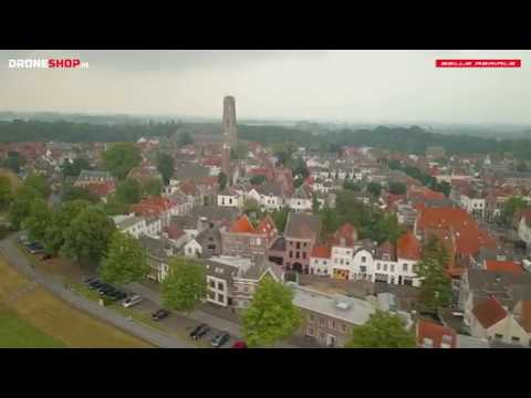 "Zaltbommel by drone on a misty day. Music by Rae & Christian Ft. Veba, ""Swan Song for a Nation"""