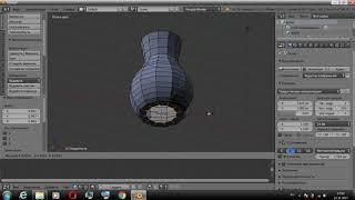 Урок 3  Моделирование вазы в блендере, Простейшие инструменты моделирования
