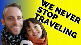 Life as a Single Dad Travelling the World; Should Single Parents Travel With Their Children?