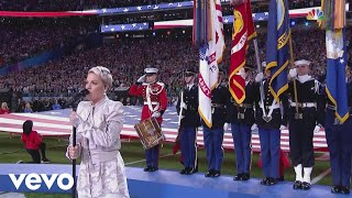 P!nk - Super Bowl LII National Anthem performance