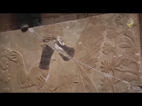 Iraq's Nimrud archeology destroyed by IS militants