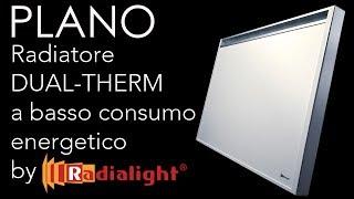 Riscaldamento elettrico a basso consumo energetico - PLANO by Radialight