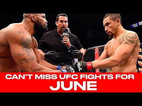 UFC Schedule: Top 10 Must-Watch Fights For June 2018