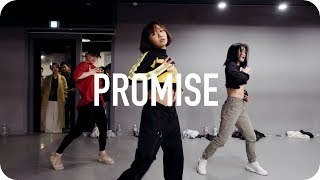 May J Lee teaches choreography to Promise by Ciara. 1MILLION Dance ...