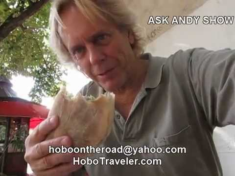 Andy Eating on 5-10 Dollars Per Day in Europe -Mostar Bosnia & Herzegovina