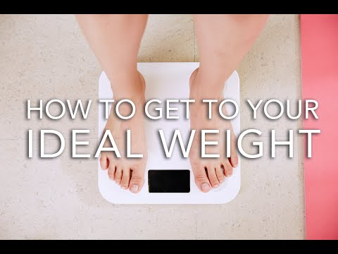How To Lose Weight To Get To Your Ideal Weight