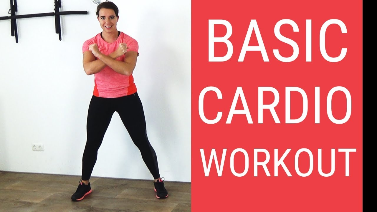 20 Minute Basic Cardio Workout for Beginners at Home – No Equipment