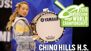 WGI 2016 Chino Hills High School FULL SHOW