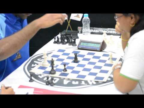 Finish of Akshayraj Kore – Kiran Manisha Mohanty from 4th round