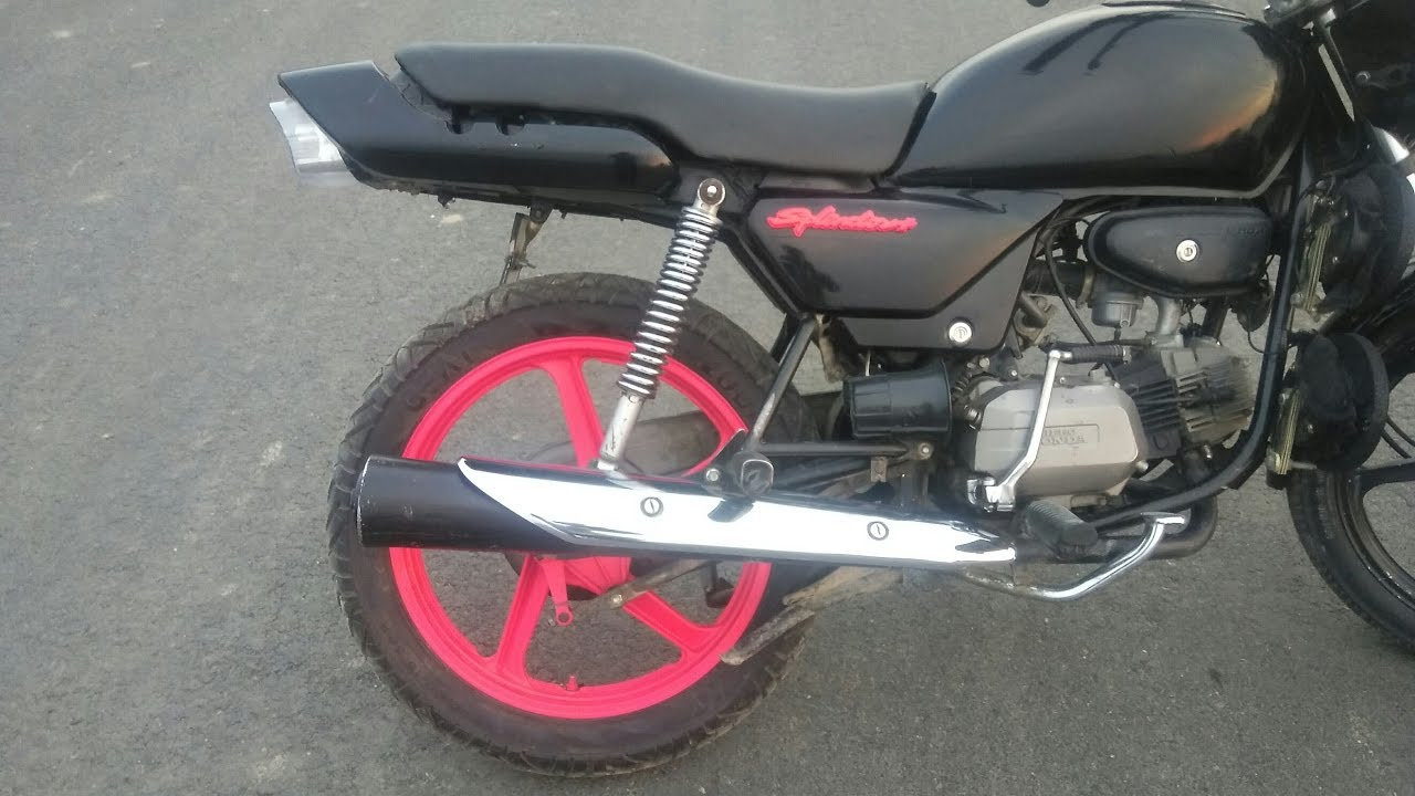 Splendor Modified Mod 4 E Bike Led Headlights Hid Headlight