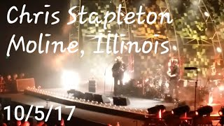 "Chris Stapleton ""Tuesday's Gone(Lynyrd Skynyrd)/The Devil Named Music"" 10/5/17 Moline"