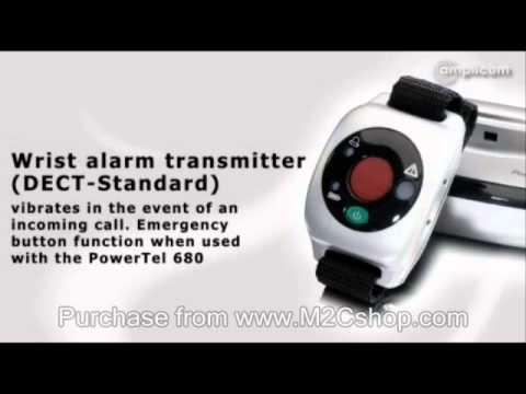 Amplicom PowerTel 680 Combo Amplified Telephones & Wrist Shaker