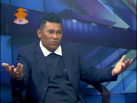 Sports Talk with  Jagat Tamat, Chief Coach of  Cricket in Nepal Television by Raju Silwal