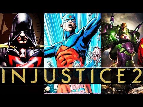 Lex Luthor And Hourman Premier Skins + Atom DLC (Injustice 2 #qna)
