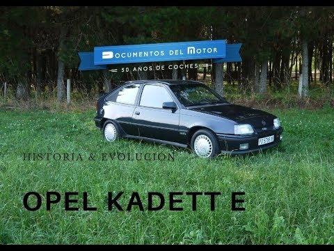 Opel Kadett E (1/2)- Historia y evolución