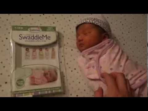 Summer Swaddleme Adjustable Infant Wrap Review Youtube