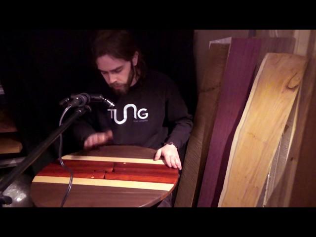 TUNGA Hardwood Handpan™ (G Major Tuning)