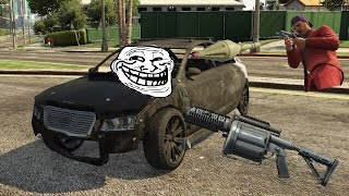 GTA5 [The best way to kill somone in an armored car]