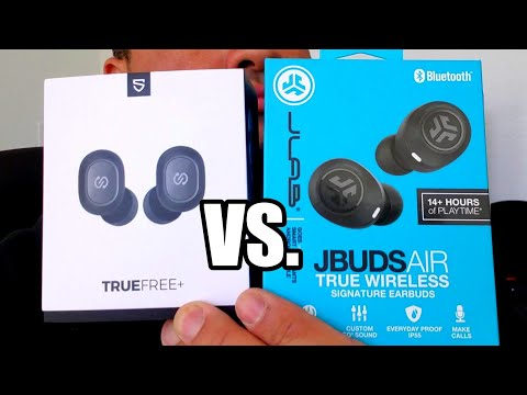Jlab JBuds vs Soundpeats True Wireless Plus - Best Bluetooth Earbuds Under $50