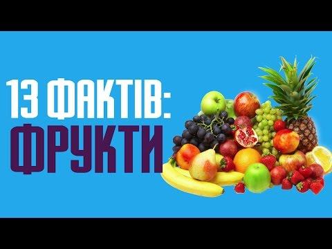 13 цікавих фактів про фрукти та їх важливість для людини