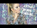 extra *embarrassing* footage from my drunk makeup fail