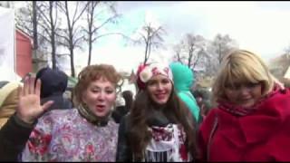 Домашнее видео «Зажигаем с Бурановскими бабушками!» от ведущей на свадьбу в Москве Светланы Светлой