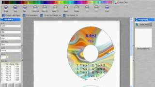 instructions on how to print labels on any cd label paper