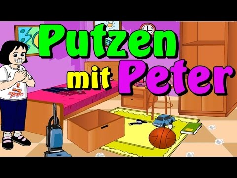putzen mit peter german das findet sogar der peter lustig youtube. Black Bedroom Furniture Sets. Home Design Ideas