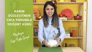 Göbek Eriten ve Karın Düzleştiren Chia Tohumlu Yoğurt Kürü - Diyetisyen Ayşe Tuğba Şengel