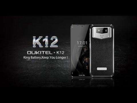 Oukitel K12 с 10000 мАч держит заряд 31 день в режиме ожидания.