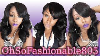 Outre Perm Yaki 18'' Lace Wig Review =)