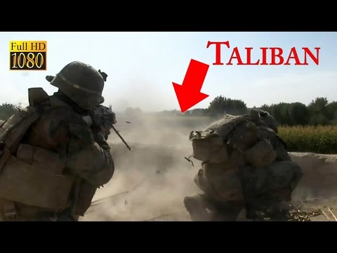 US Marines Real Combat in Afghanistan - Furious Firefights a