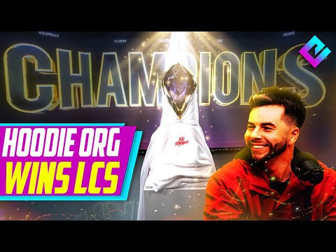 100 Thieves Hoodie Org WINS LCS Championship | 202DC