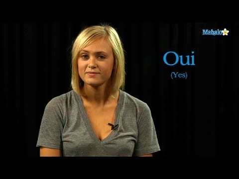 What does ben oui mean in french