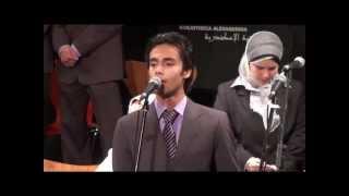 عنوان بيتنا - عمر لبيب - مكتبة الإسكندرية 9 يونيو 2012