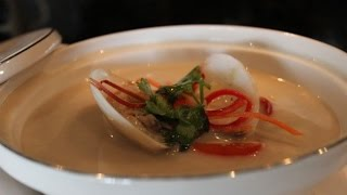 How To Cook Coconut Galangal Soup With Clams