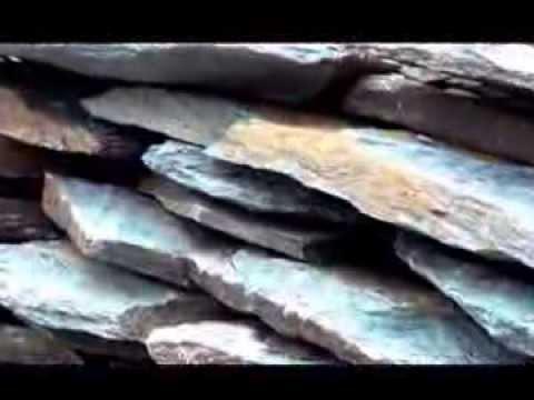 Adoquines piedra laja youtube for Adoquines para jardin