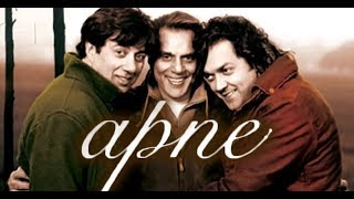 Apne   Hindi Full Movie HD  DHARMENDRA   SUNNY DEOL   BOBBY DEOL   YouTube 720p