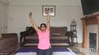 13-05-2020 - Hatha Yoga By Bhavnaben Jogi