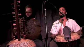 BloomTV: Jabari Exum & Amadou Kouate, Kora and Djembe Virtuosos