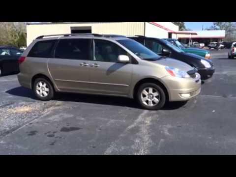 2004 Toyota Sienna XLE Van Review