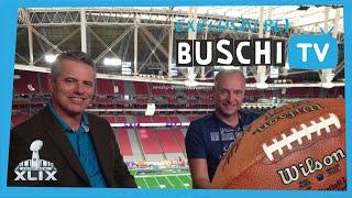 Probe im ran-Studio - Final Countdown | Buschi Goes Super Bowl 2015